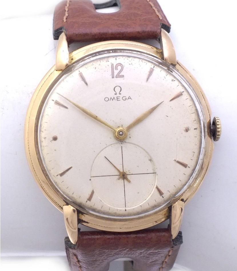 2e2def90ab2 Relógio Omega Ferradura Masculino Todo Em Ouro 18k J12625 - R  3.399 ...