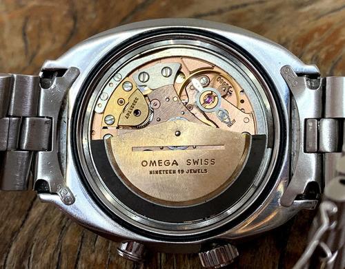 omega memomatic 1971 alarme lemania- omega 980, ref. 166.071