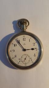 auténtico auténtico primer nivel nueva colección Omega Reloj Bolsillo Ferrocaril Funcinando
