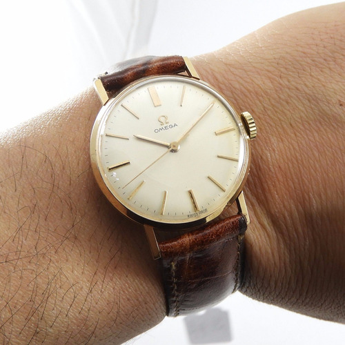 omega reloj oro 18kl,unisex,original,impecable,c/nuevo!!!!!!