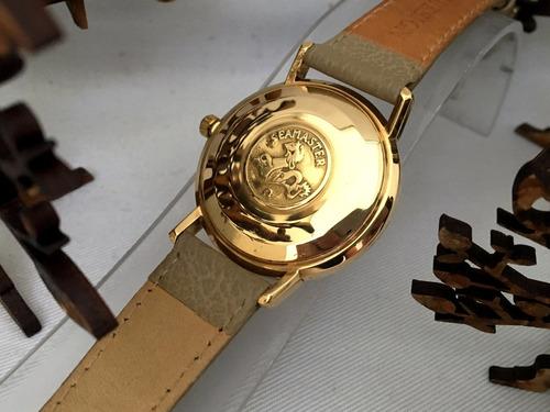 omega seamaster deville oro 14kt   vintage  de los 70's.