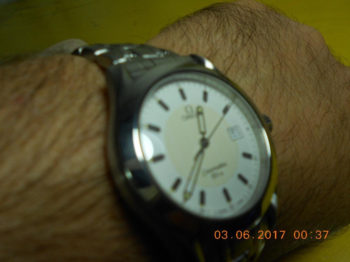7ea2781d37f Omega Seamaster Wave Dial - 120m (intacto - Raro - Herança) - R ...