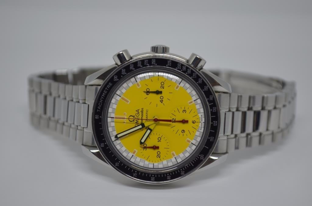 a975f94ff48 omega speedmaster michael schumacher chronograph racing. Carregando zoom.