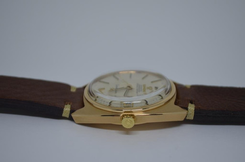 omega vintage constellation 1967 - gold (ouro)