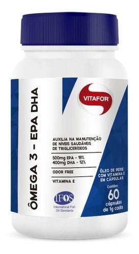 omegafor - 60 cápsulas 1g - vitafor