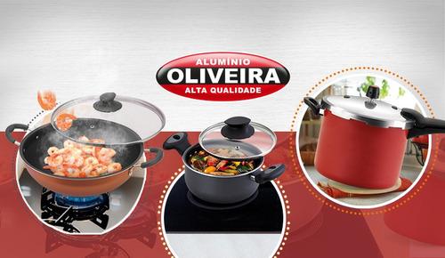 omeleteira antiaderente nº 20 - alumínio oliveira