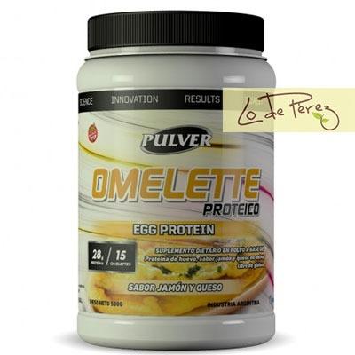 omelette pulver sabor jamón y queso - ideal para perder peso