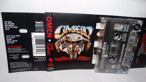 omen - the curse (carcasa:ex - inserto:ex)