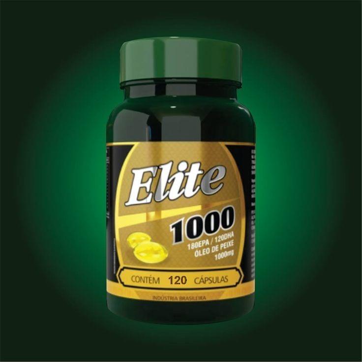 e96e6774d Omêga 3 - Elite 1000mg - O Melhor Óleo De Peixe - Oferta - R  49