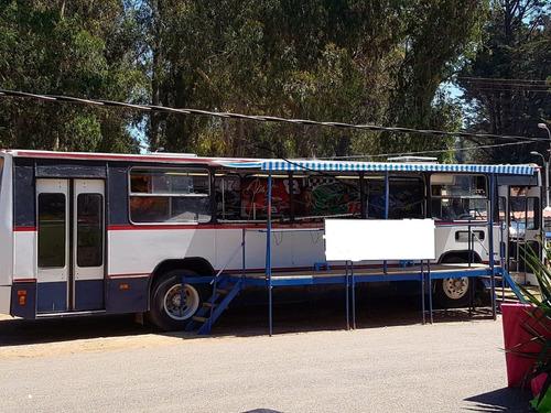 omnibus con deck para negocio de food truck  o  motor home !