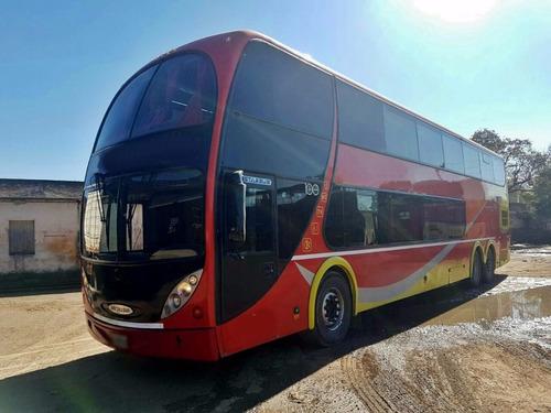 omnibus doble piso scania 380 metalsur 2011
