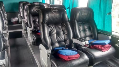 ómnibus doble piso troyano mix 60 butacas scania k410 2014
