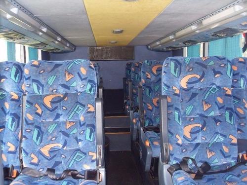 omnibus doble piso volvo marcopolo 60 asientos excelente