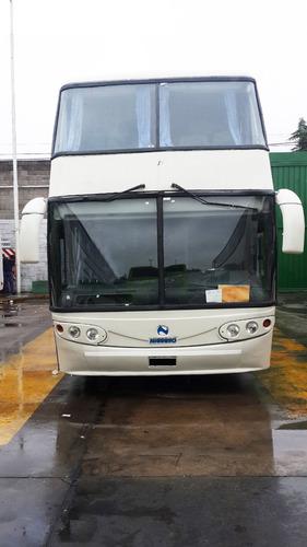 omnibus mercedes benz 0 400 rsd doble piso buen estado