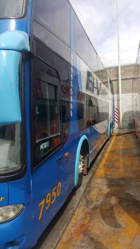 omnibus mercedes benz 0 500 rsd doble piso buen estado