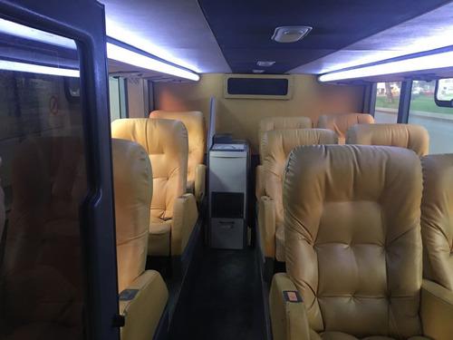 omnibus scania marcopolo 100% operativo doble piso sofá cama