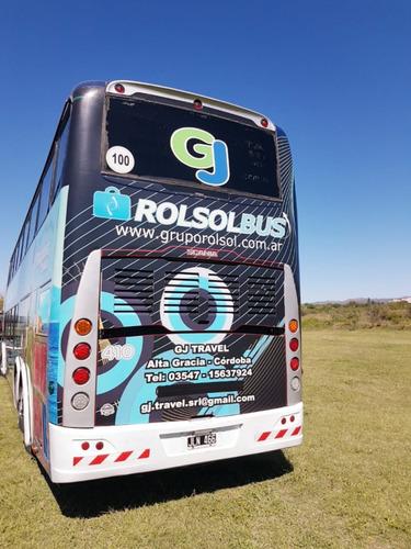 omnibus turismo carroceria sudamericanas 2011  butacas cama