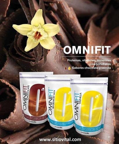 omnifit (supermix) chocolate x 600 grs