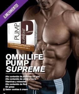omnilife pump supreme extraprotein - unidad a $ 204