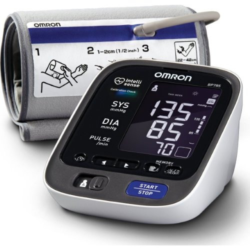omron bp serie superior del brazo monitor de presión arteri