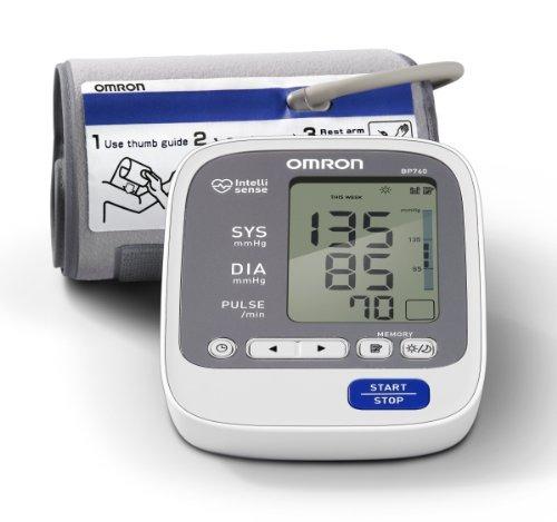 omron bp760 7 series arterial de brazo monitor de presión,