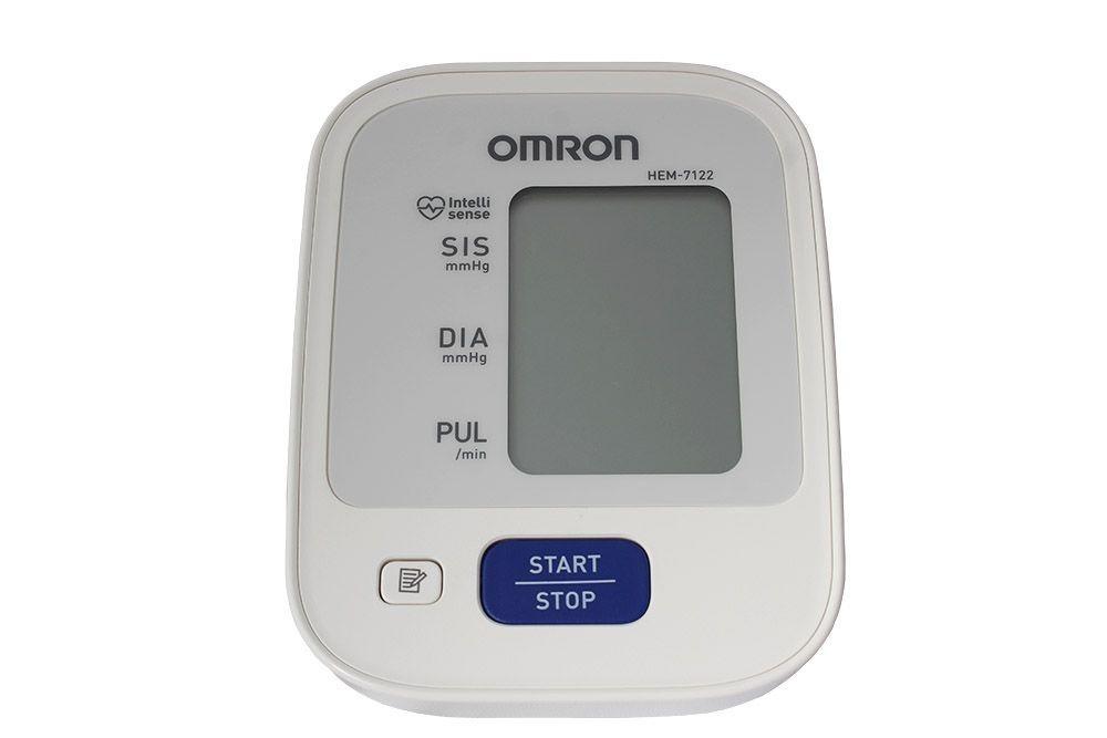 2f96beea3 omron hem-7122 medidor de pressão arterial de braço original. Carregando  zoom.