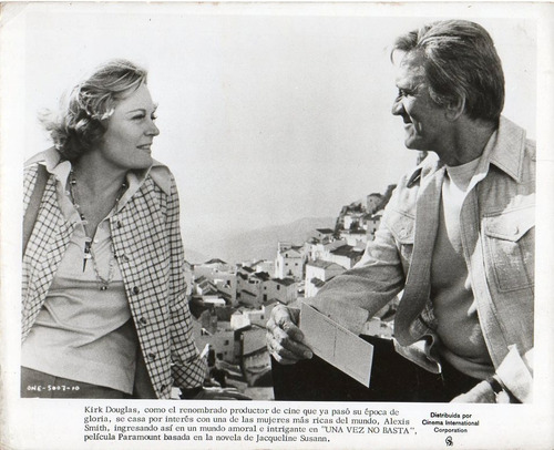 once is not enough kirk douglas alexis smith guy green 1975
