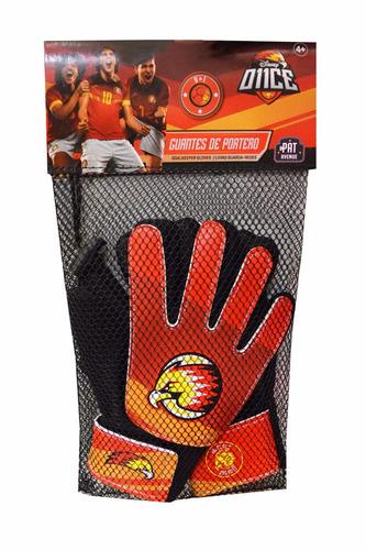 once par de guantes de arquero símil cuero original disney
