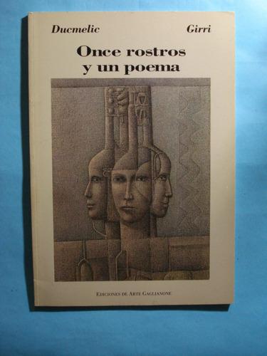 once rostros y un poema. edición trilingüe español/inglés/fr