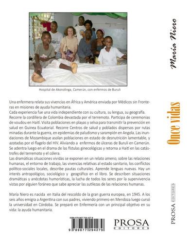 once vidas, memorias de una enfermera - maria niero