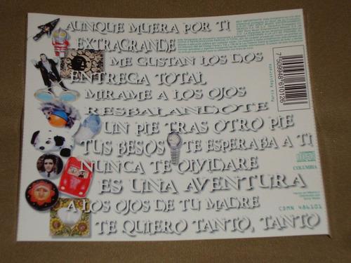 onda vaselina entrega total 1997 columbia cd ov7 - 13 tracks