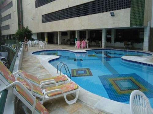 ondina flat  cobertura i 2 suítes, 2 piscinas (um - ti650 - 3055020