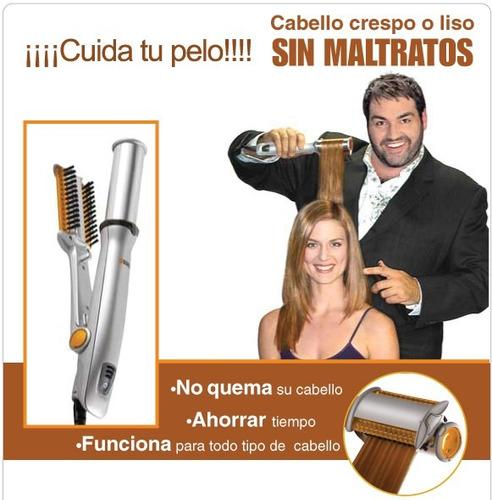 ondulador rizador alisador cilindro termico protege tu pelo