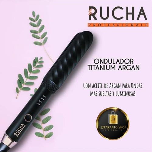ondulador titanium argan. original rucha