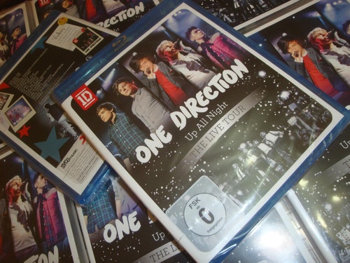 one direction blu ray up all nigth importado de europaa