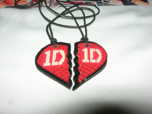 one direction collares  en resina cristal artistas online