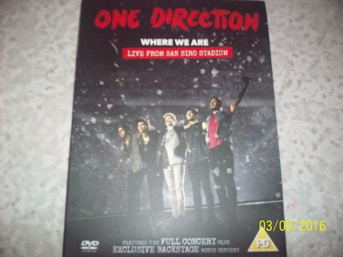 one direction dvd