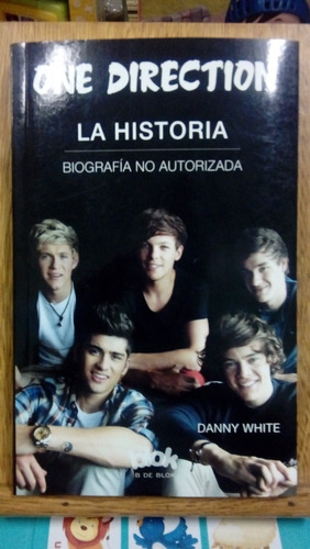 one direction la historia - white - usado - devoto