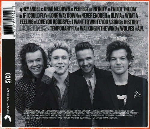 one direction made in the a.m cd nuevo sellado librería juku