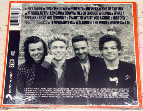 one direction made in the a.m. deluxe edition cd / kktus