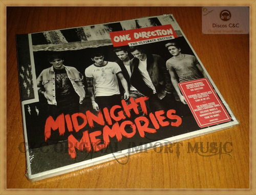 one direction - midnight memories - the ultimate edition