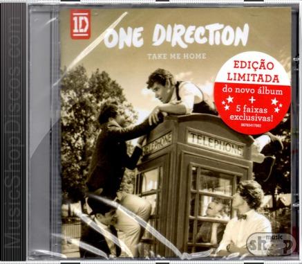One Direction Take Me Home - Novo Lacrado Original