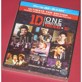 One Direction This Is Us Bluray 3d + 2d  -  Emk