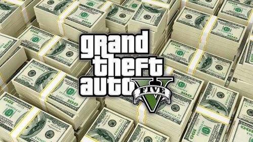 one million dollars in gta v