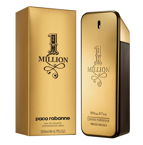 one million edt tamaño especial 200ml original fiorani