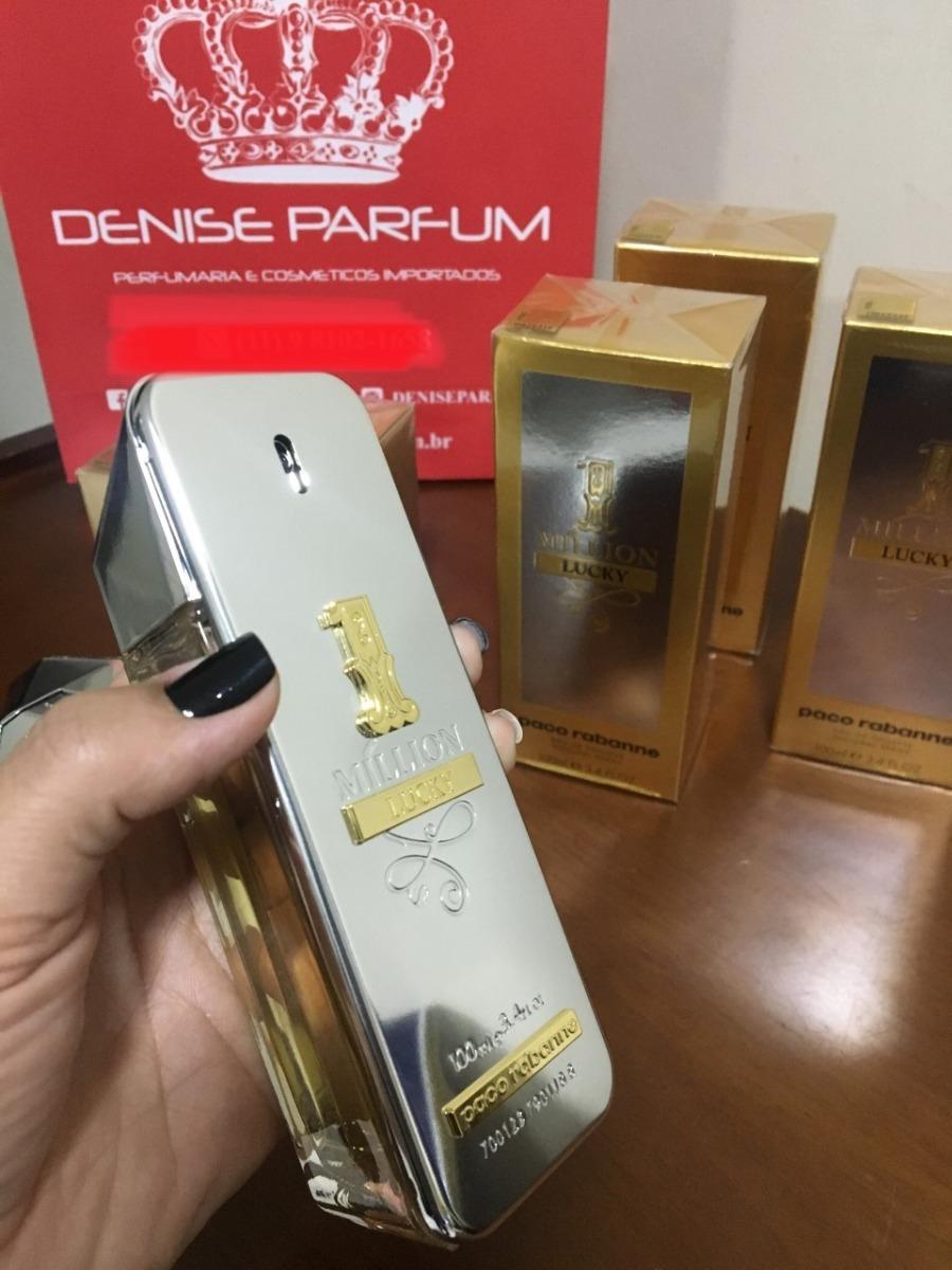 9e75f104f Características. Marca Paco Rabanne; Nome do perfume one million; Gênero  Masculino ...