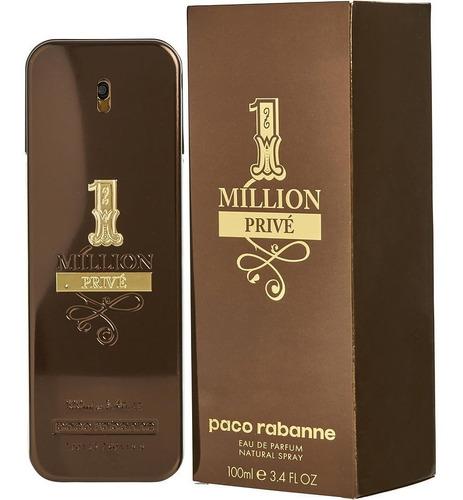one million prive hombre 3,4oz (100.ml) sellada original