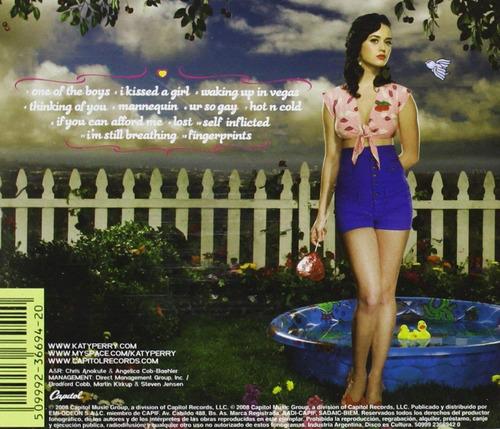 one of the boys - katy perry - disco cd - nuevo 12 canciones