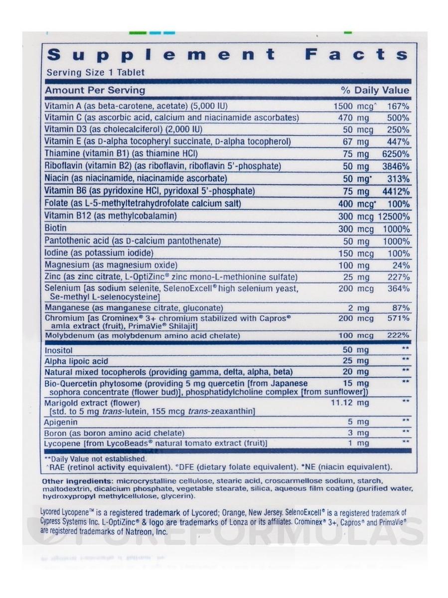 One Per Day 60 Tabs Life Extension Multivitamínico - Eua - R$ 118 ...