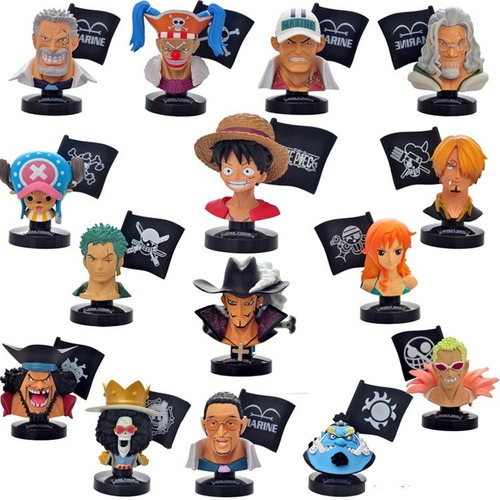 one piece bandai luffy zoro sanji nami chopper brook mihawk